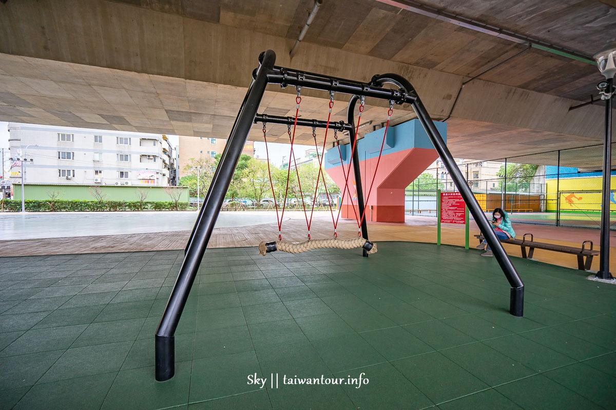 桃園親子景點【舞動園區】龍潭雨天備案公園遊戲場