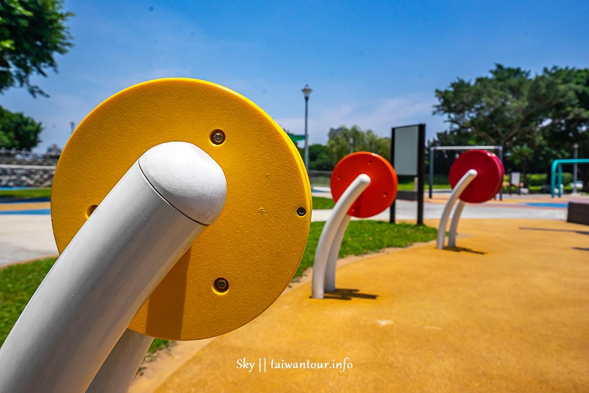 台北市親子【華中河濱公園(兒童特色遊戲場)】推薦景點