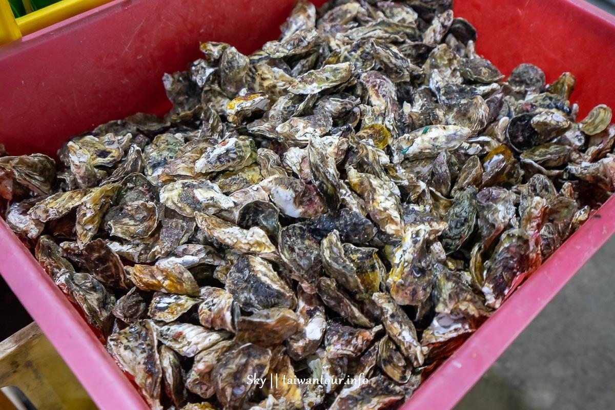 澎湖必吃燒烤【大姊碳烤鮮蚵吃到飽】小卷.螃蟹.現流魚隨便夾