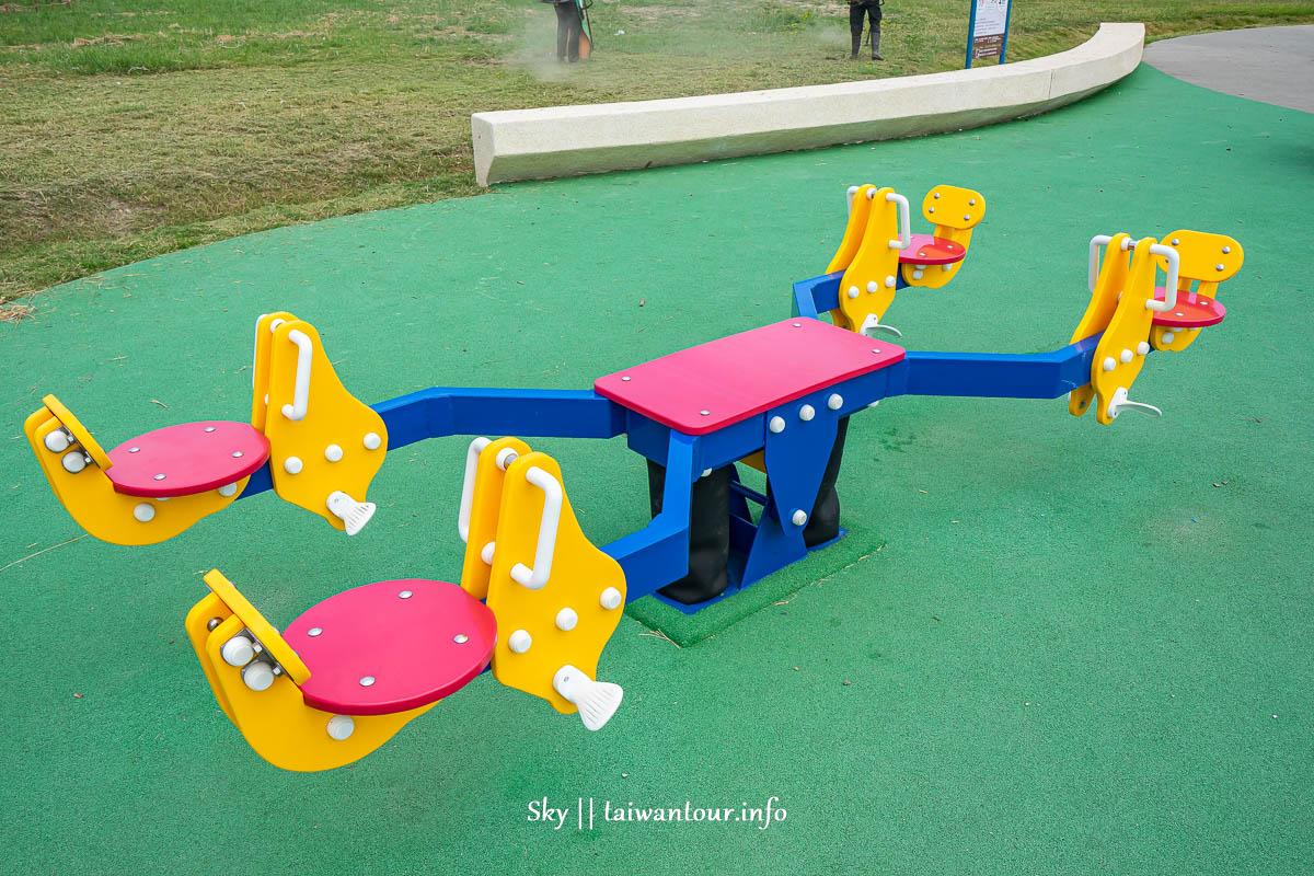 新北親子景點【八里十三行文化公園兒童遊戲場】溜滑梯.野餐.地址