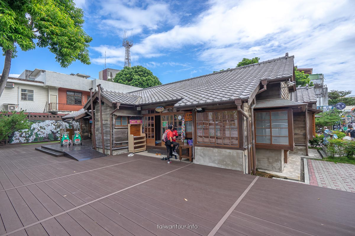花蓮市景點推薦【好客文化會館】單車一日遊.超好拍日式建築