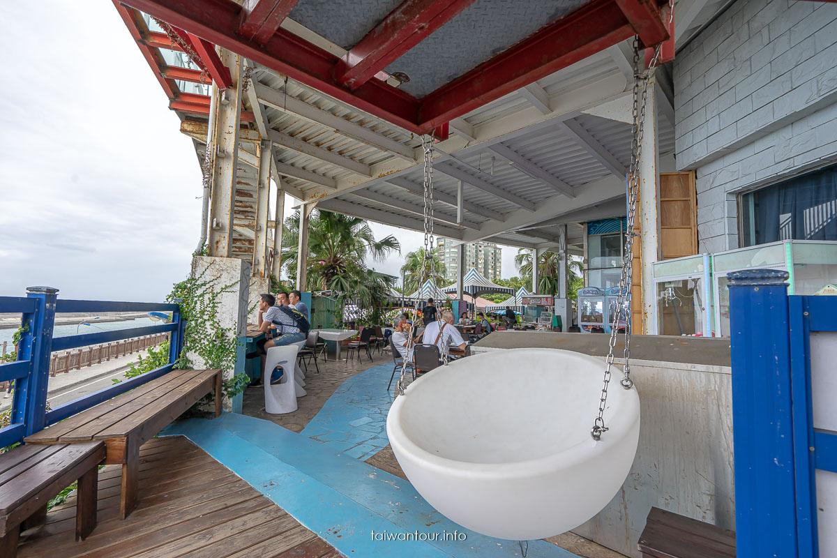 花蓮港海景咖啡廳【85度c海岸店紅鶴園區】網紅景點