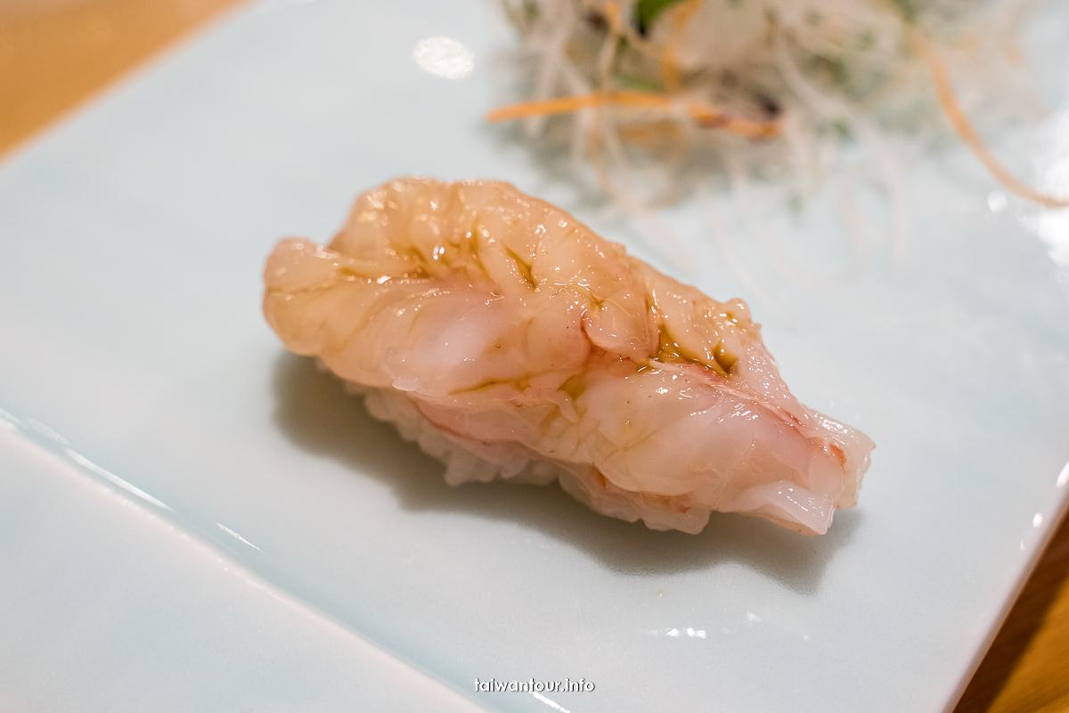 【鮨松濤無菜單日本料理】菜單價位.午晚餐.江戶前壽司