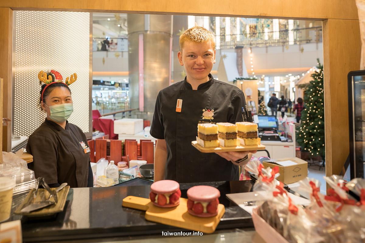 【2020大江購物中心聖誕慶】501號聖誕市集、北歐耶誕雪屋造景,挑戰最強偽出國打卡點