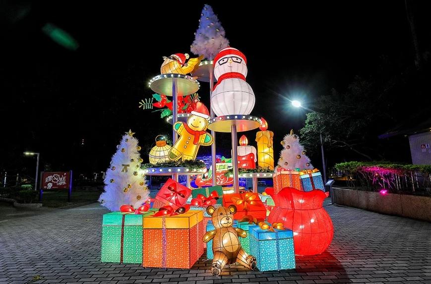 【2020屏東聖誕節】絕美極光聖誕村.親子景點推薦