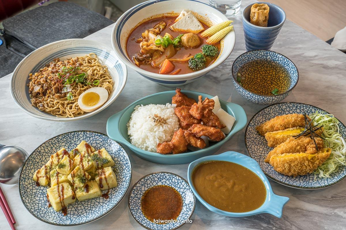 【吼吼妹銷魂麵舖】台中嶺東科大文青麵店美食推薦