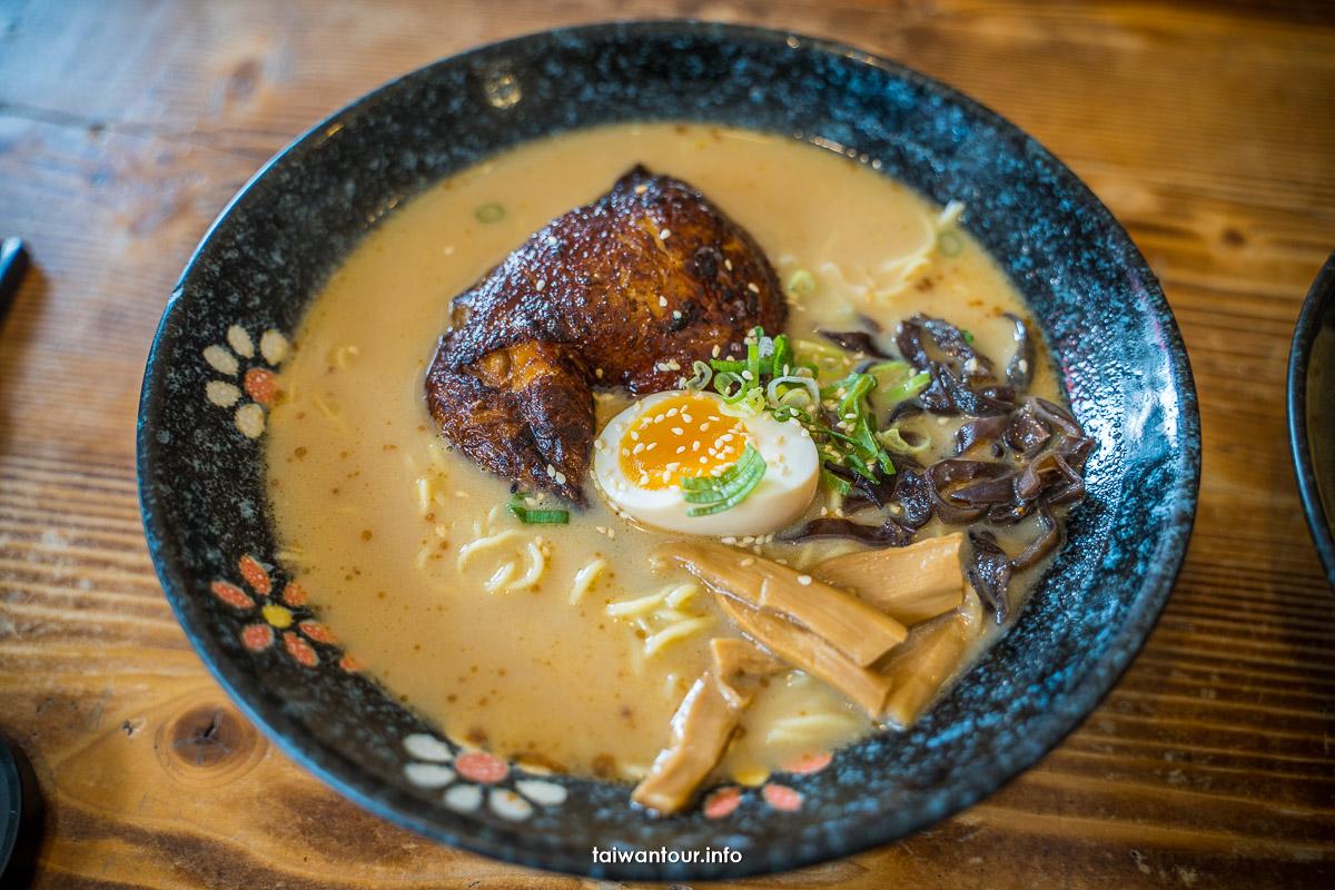 【元寸拉麵】台中大甲日式拉麵菜單美食推薦