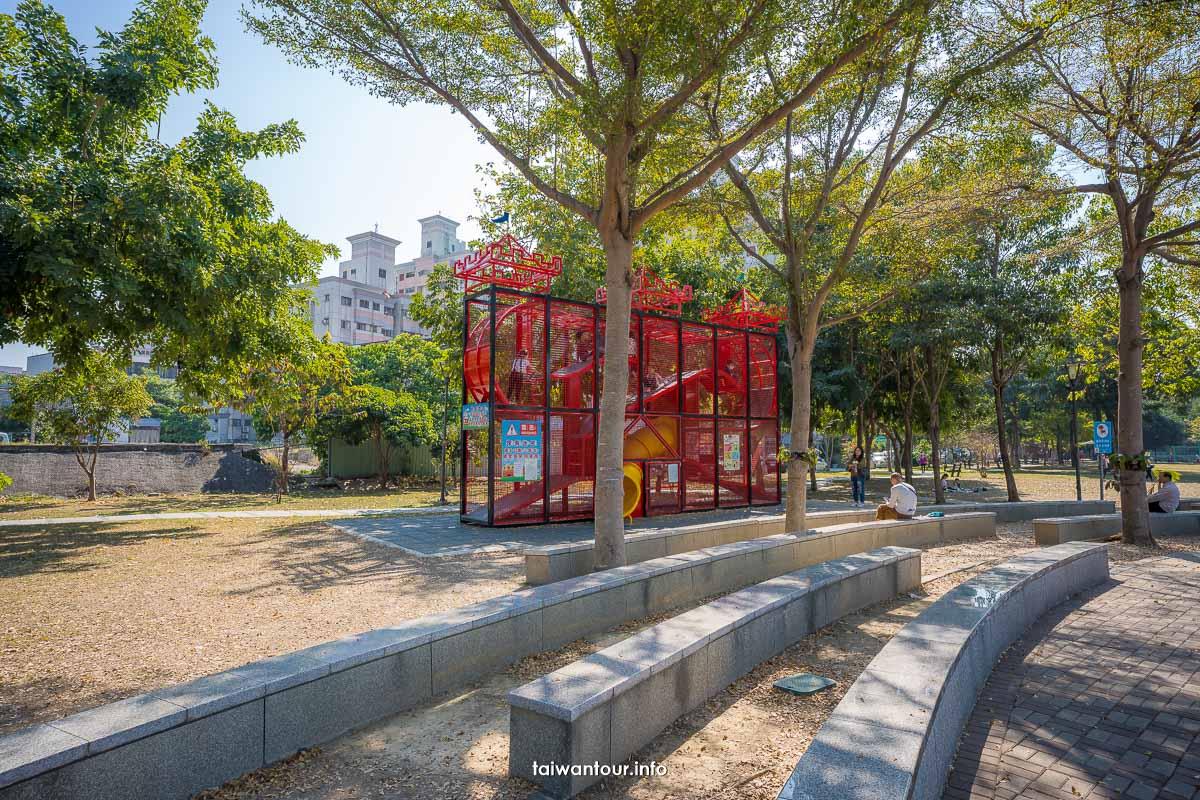【新福公園】台中太平區親子景點.周邊美食