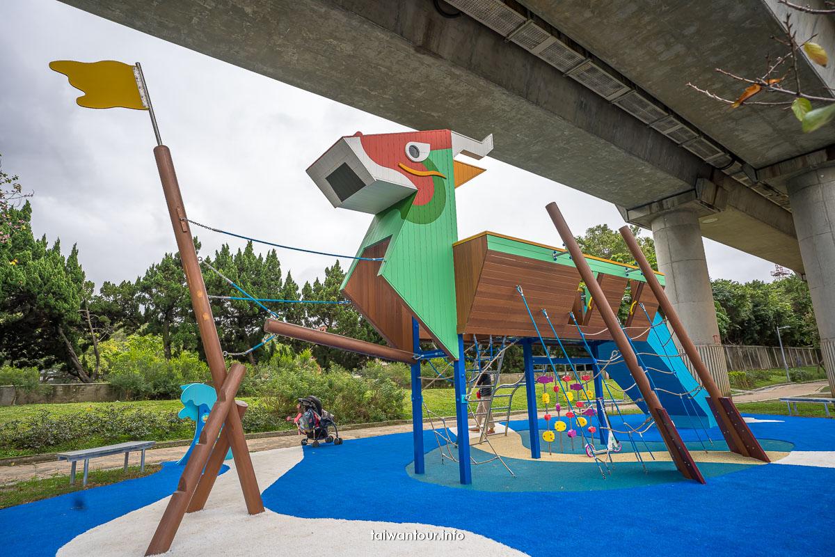 2021【劍潭線形公園(劍潭段-通河街2巷)】台北特色公園溜滑梯推薦親子景點