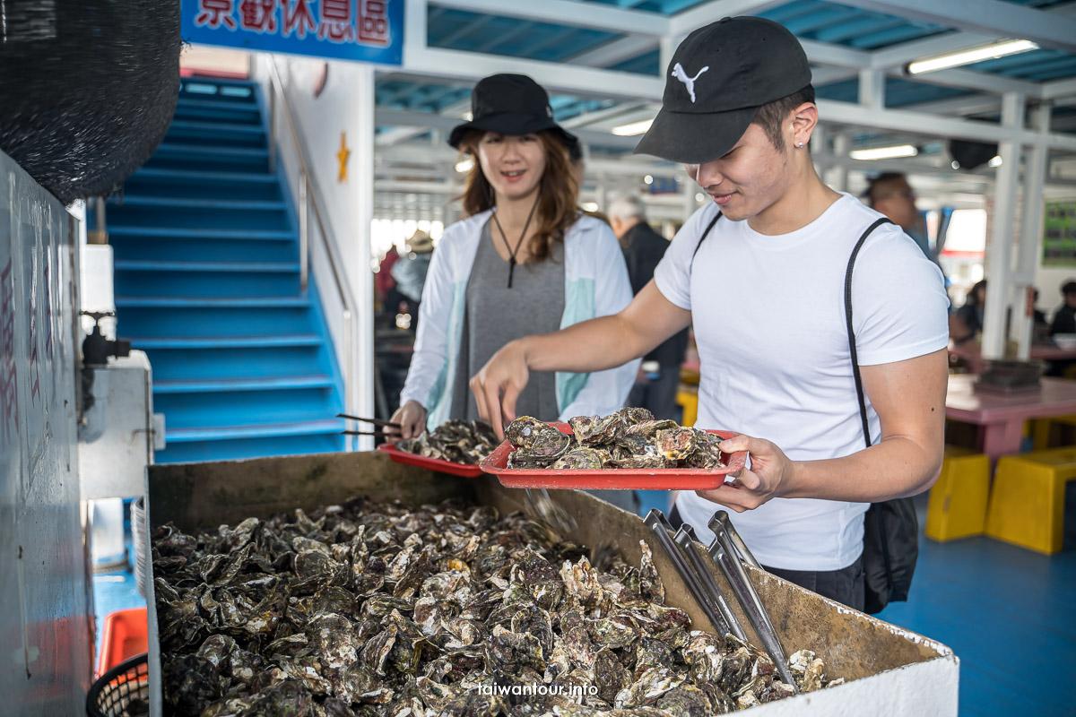 【澎湖海洋牧場體驗】牡蠣吃到飽.夜釣小管.海上BBQ