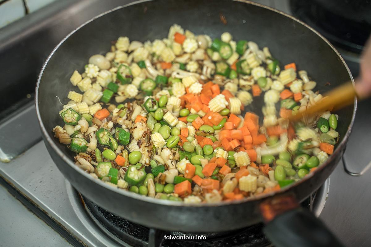 【海鮮干貝鮮蝦燉飯】食譜作法教學.牛奶.水量比例關鍵