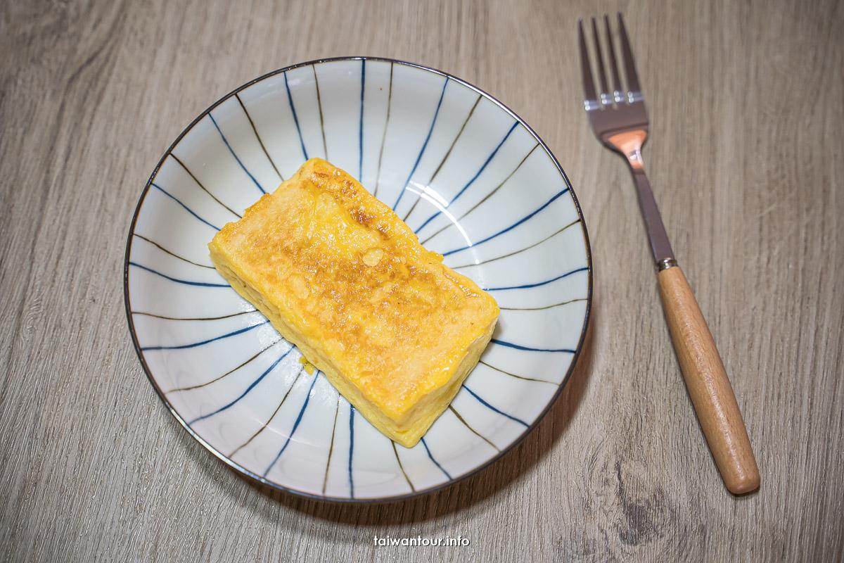【法式吐司(法蘭西吐司)】免烤箱料理.不加牛奶.大統領法式吐司
