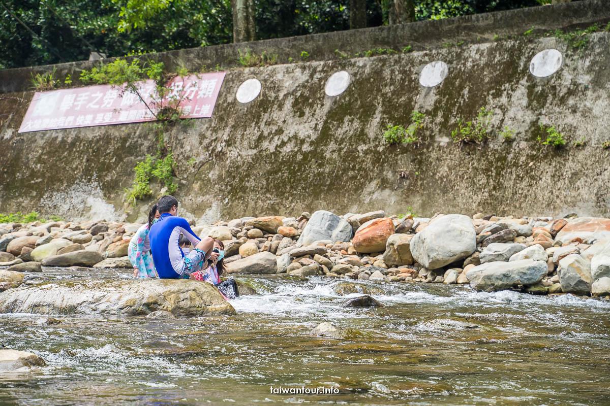 【北埔冷泉】新竹親子景點半日遊.交通停車