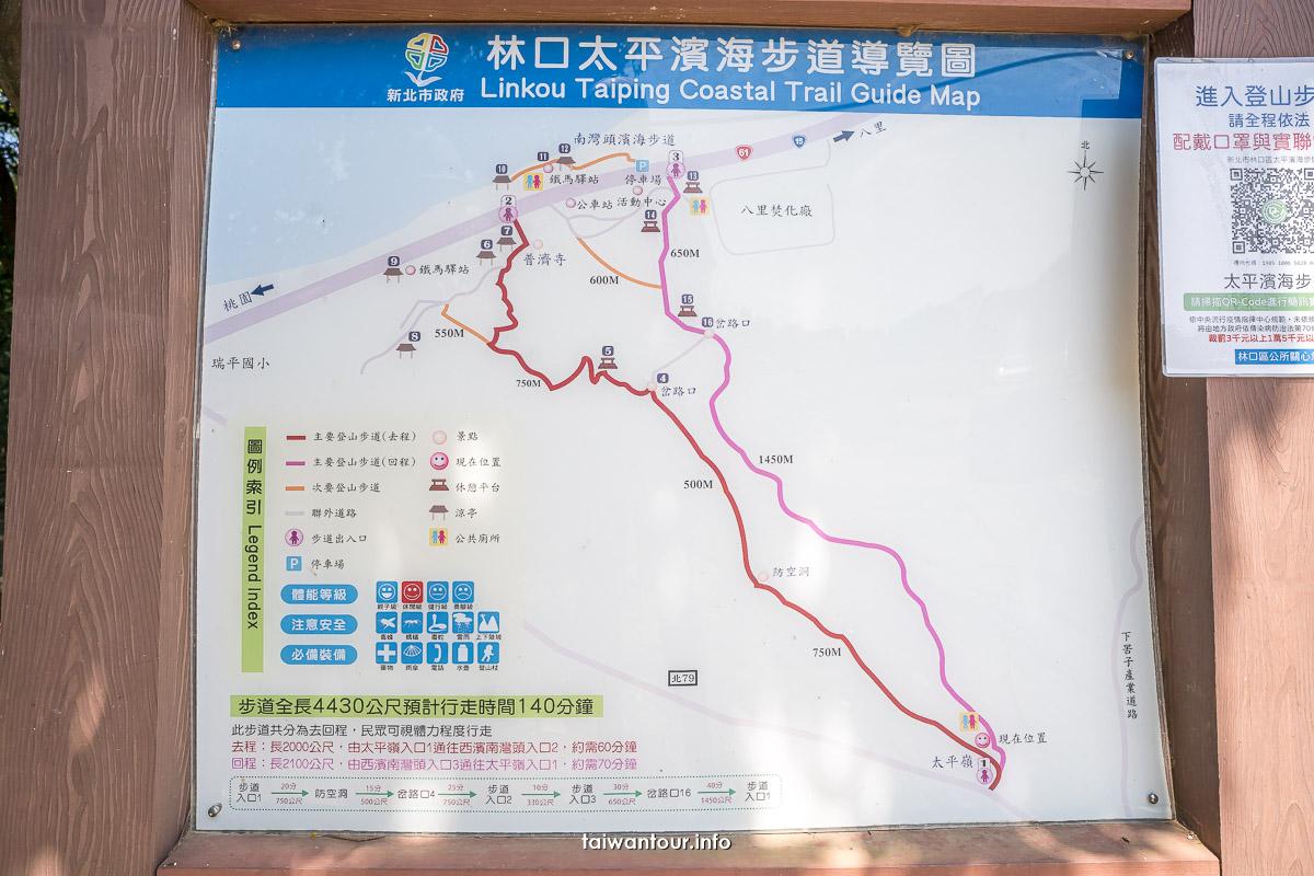 【太平濱海步道】林口親子登山步道.開車.美食介紹